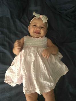 Zoe 7 months