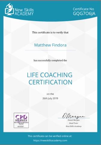 life coach cert
