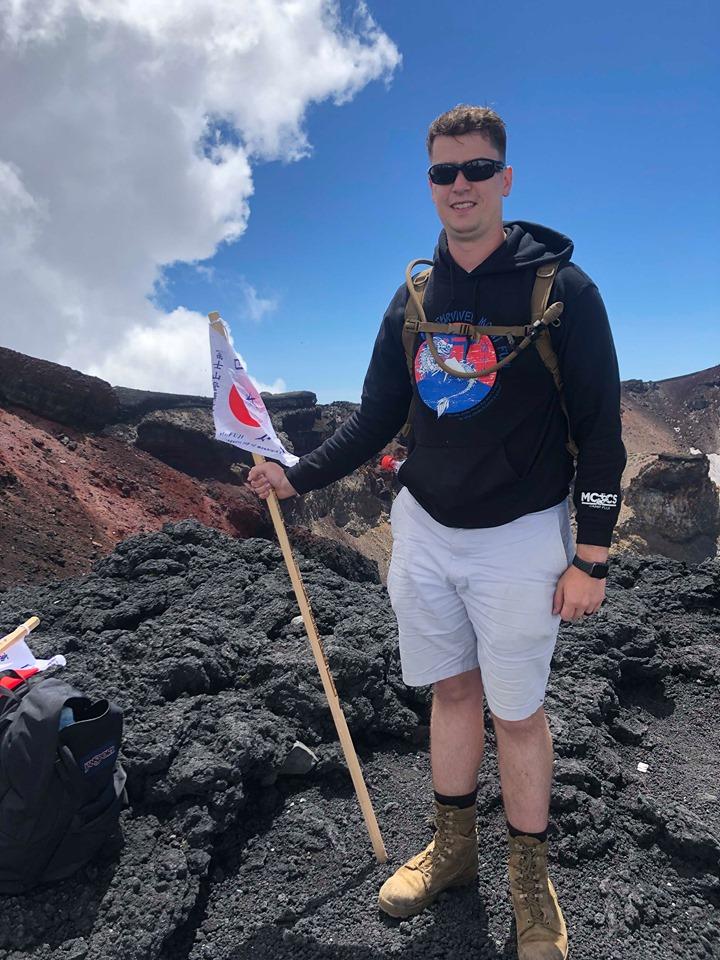 Top of Fuji