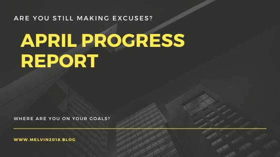 april progress report